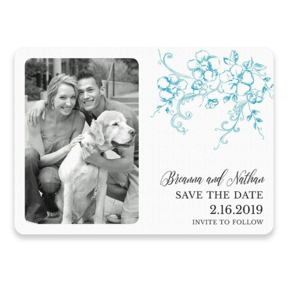 Abbey Road Save The Date Postcards