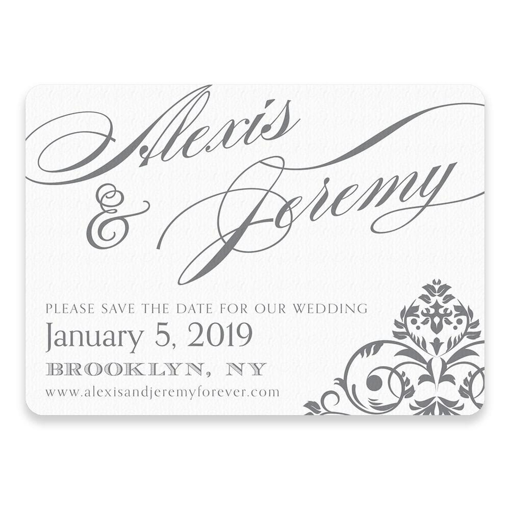 Signature Save The Date