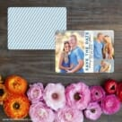 Relish The Moment Save The Date Card With Back Printing