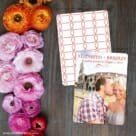 My Crush Save The Date Card With Back Printing