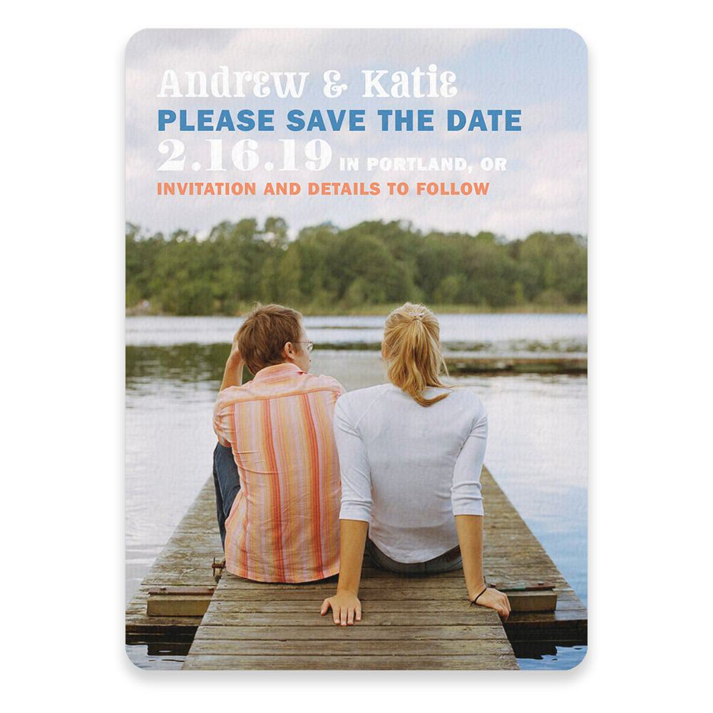 Mirror Lake Save The Date