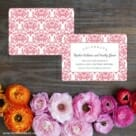 Laughter Save The Date Card With Back Printing