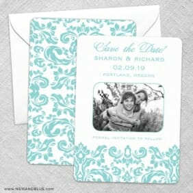 Grace Save The Date Wedding Card