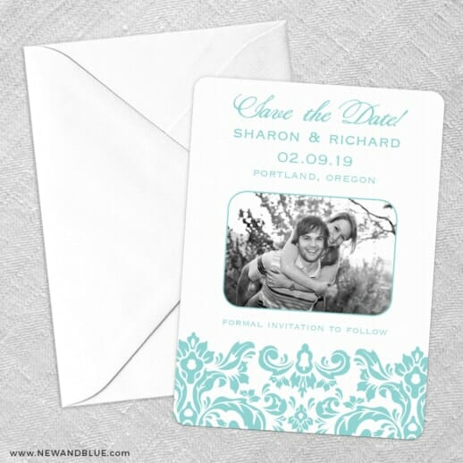 Grace Save The Date Party Card