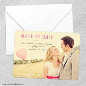 Frolic Save The Date Party Card