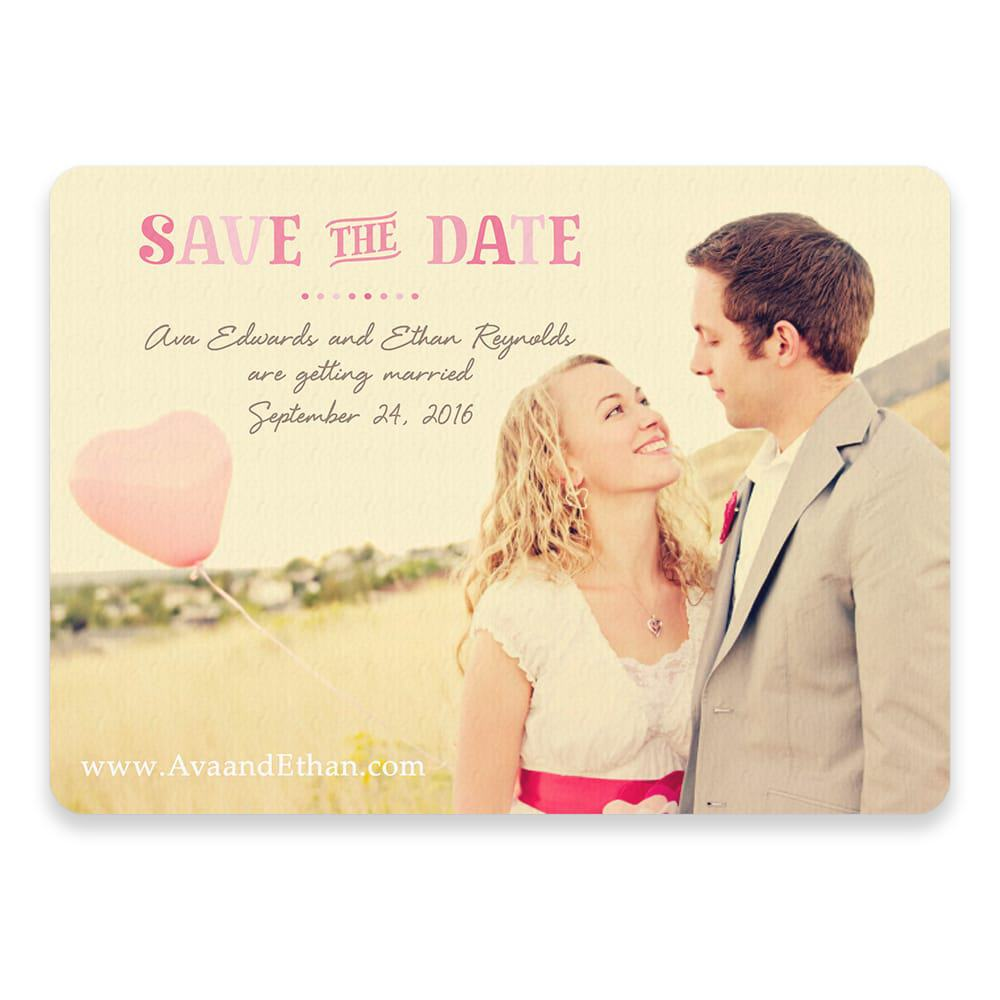 Frolic Save The Date