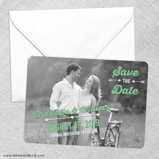 Cape Cod Save The Date Party Card