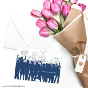 Big Celebration Bar Bat Mitzvah Save The Date Cards With Envelope