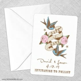 Bettie Save The Date Party Card
