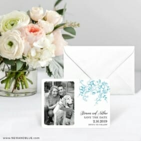 Abbey_road Save The Date Card With Envelope