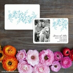 Abbey_road Save The Date Card With Back Printing