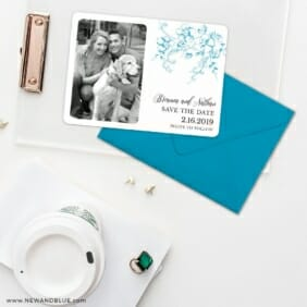 Abbey_road Save The Date Cards And Optional Color Envelopes