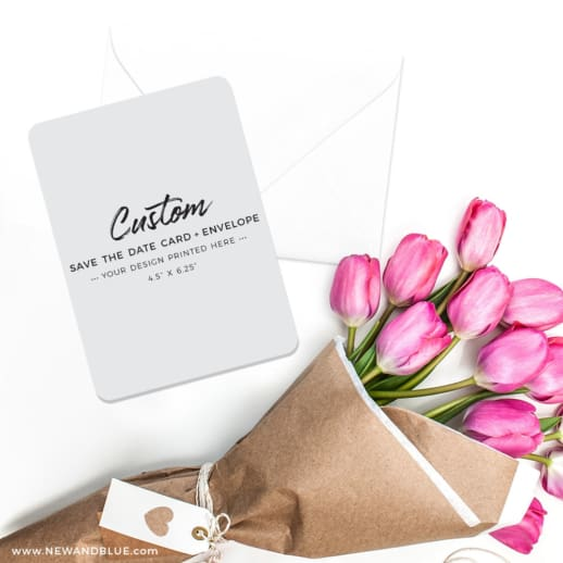 Custom Save The Date