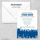 Big Celebration Wedding Invitation With Envelope
