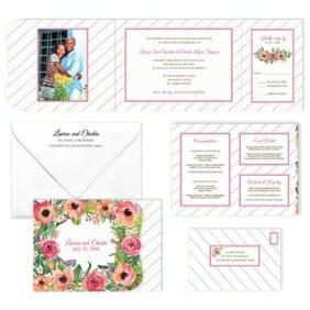 Brilliant Floral All Inclusive Invitation