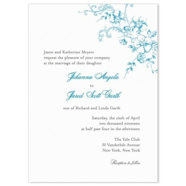 Abbey Road Wedding Invitation