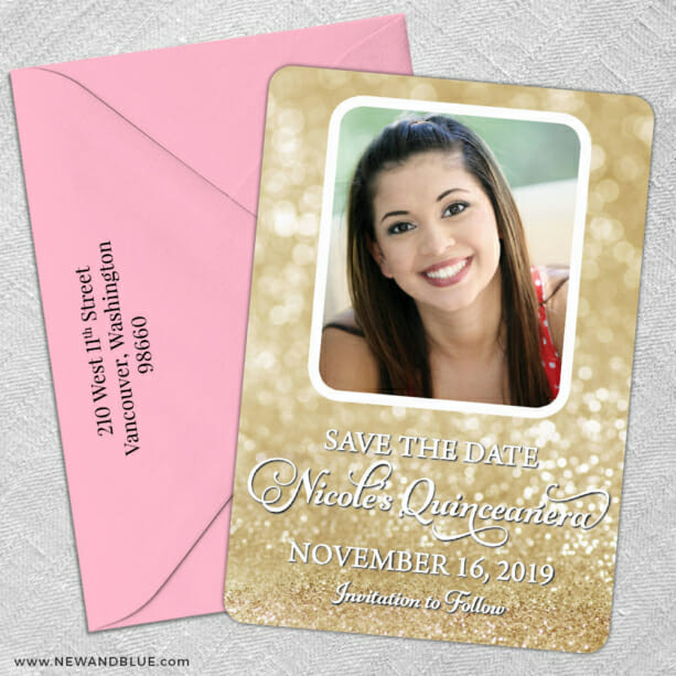 Mariana 5 Save The Date With Optional Color Envelope1