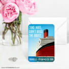 Cruisin 6 Wedding Save The Date Magnets1