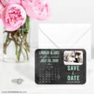 Chalkboard Calendar 6 Wedding Save The Date Magnets1