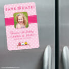Cupcake Delight 3 Refrigerator Save The Date Magnets1