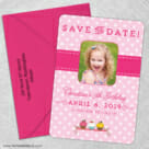 Cupcake Delight 5 Save The Date With Optional Color Envelope1