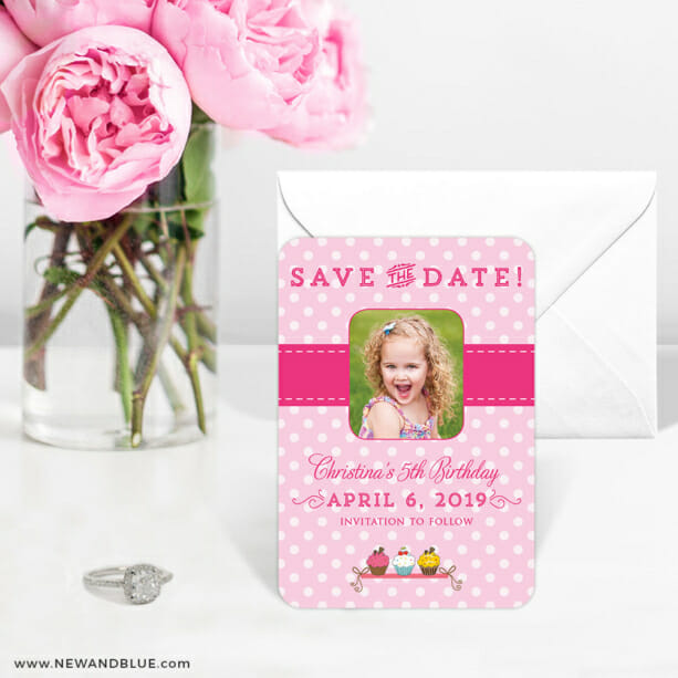 Cupcake Delight 6 Wedding Save The Date Magnets1
