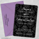 Anniversary Party Magnet Shown With Optional Color Envelope1