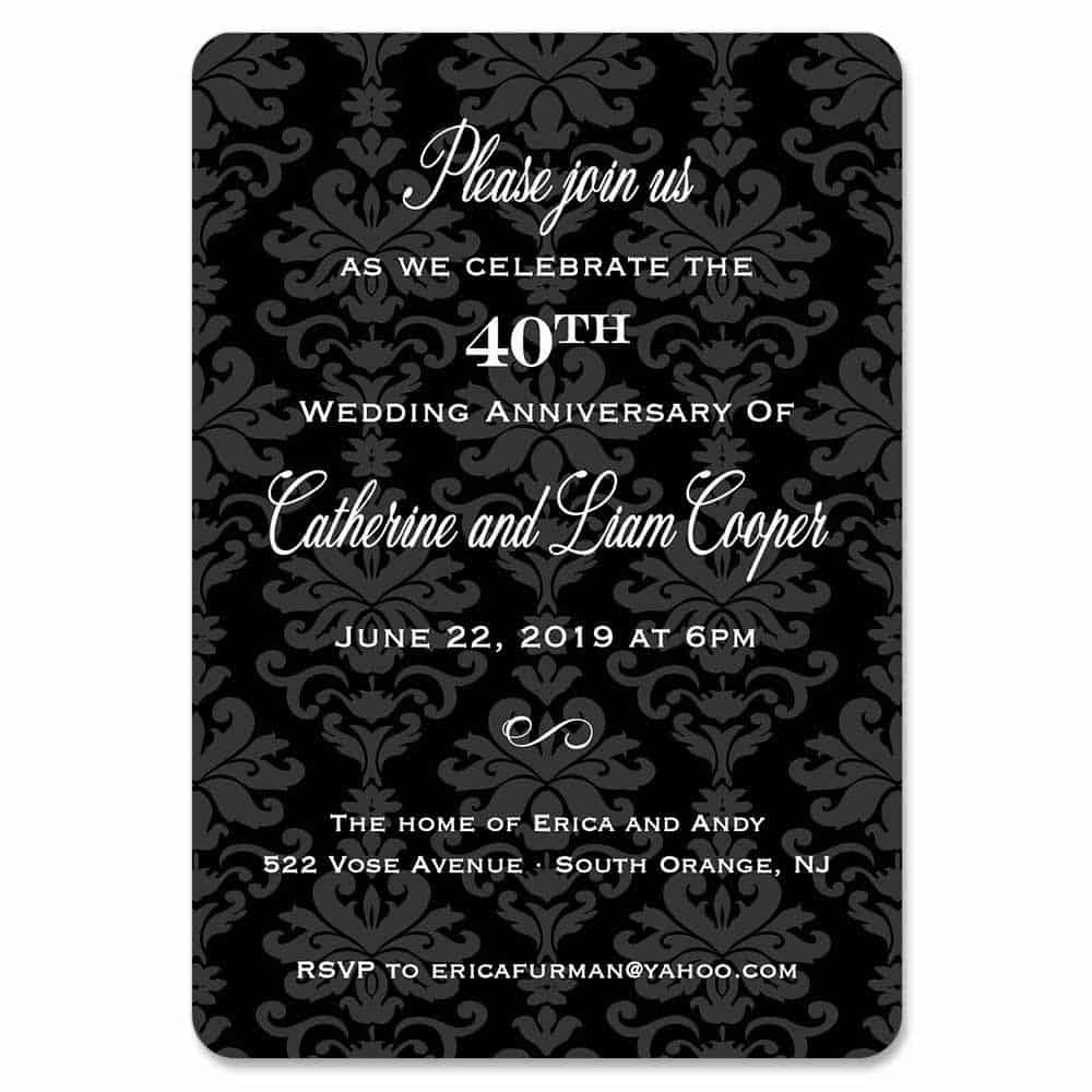 Anniversary Party Design Save The Date Magnets