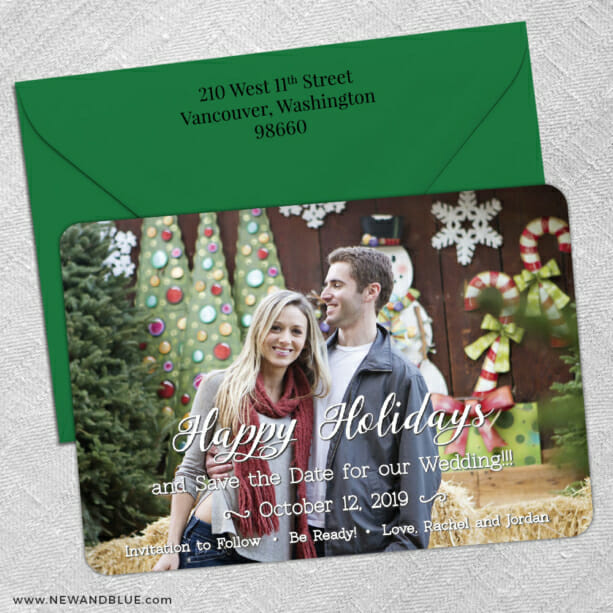Be Ready 5 Save The Date With Optional Color Envelope1