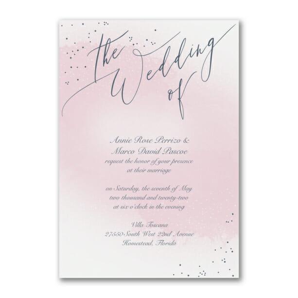 unique champagne wedding invitation for 79 champagne and rose gold wedding invitations