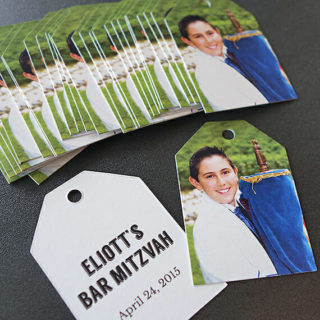 Bar Mitzvah Favor Tag