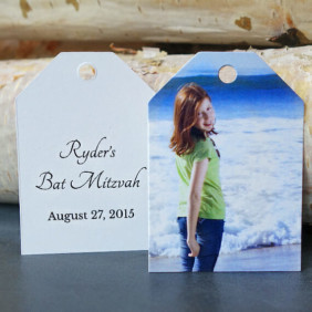 Bat Mitzvah Favor Tags 2