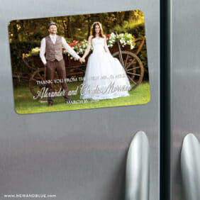 Big Thanks 3 Refrigerator Save The Date Magnets1