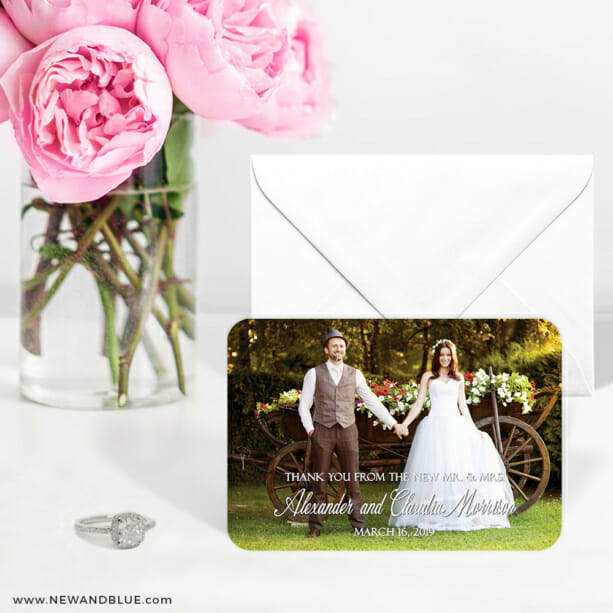 Big Thanks 6 Wedding Save The Date Magnets1