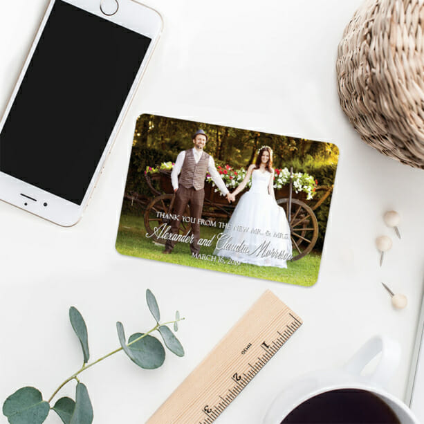 Big Thanks 7 Wedding Save The Date Magnets1