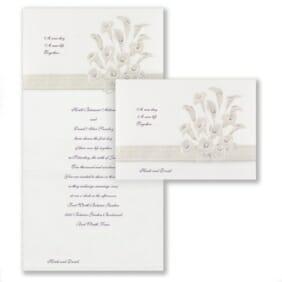 Passionate Lilies NB CC VZ 8781 Invitation