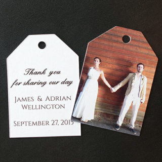 Wedding Favor Thank You Tags 3