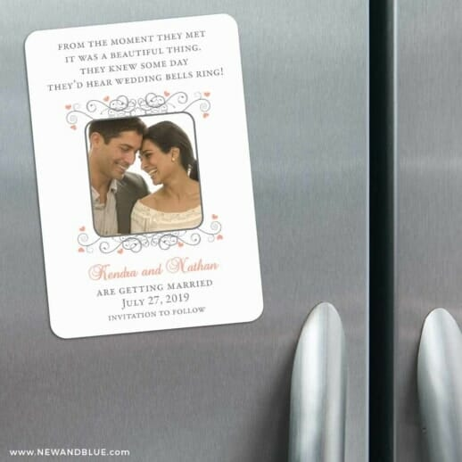 A Summer Dream 3 Refrigerator Save The Date Magnets