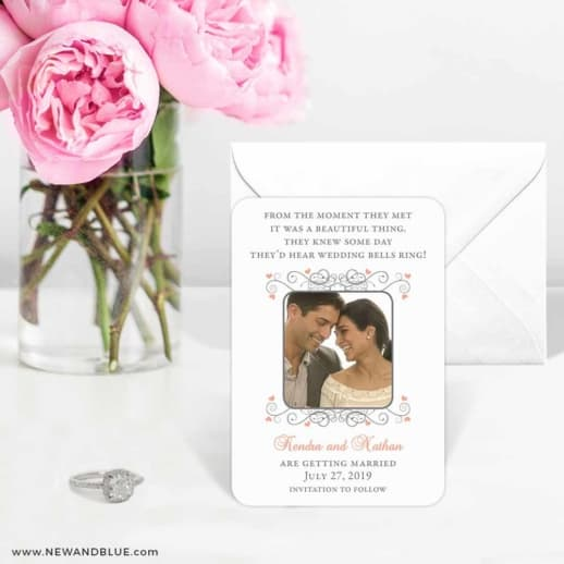 A Summer Dream 6 Wedding Save The Date Magnets