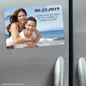 Adventures Await 3 Refrigerator Save The Date Magnets