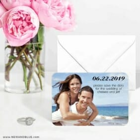 Adventures Await 6 Wedding Save The Date Magnets