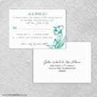 Aloha Rsvp Card And Envelope