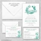 Aloha Wedding Invitation And Rsvp