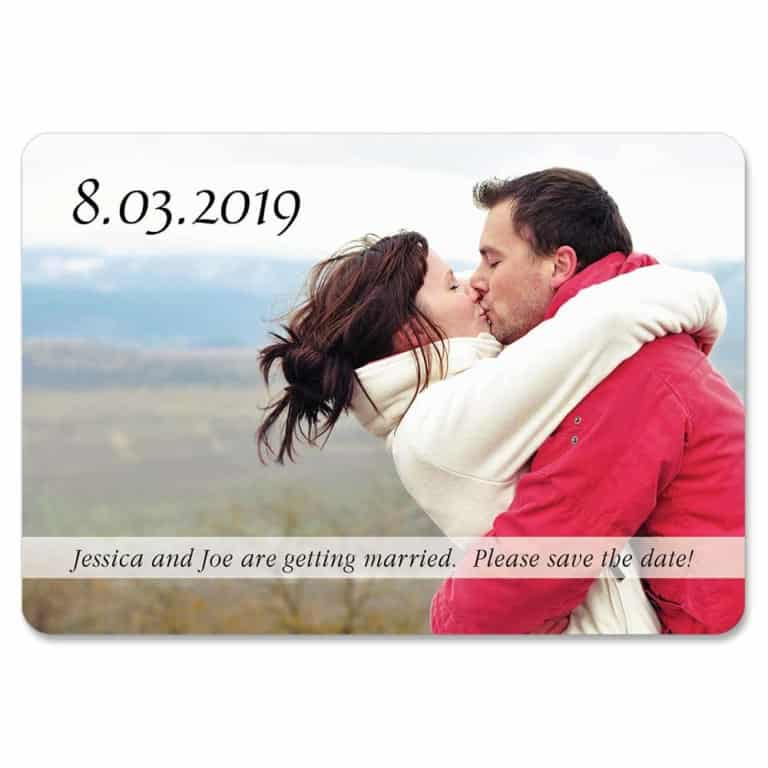 Amazing Love 1 Save The Date Magnets