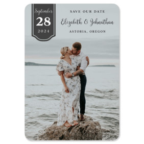 Badge Of Love 1 Save The Date Magnets