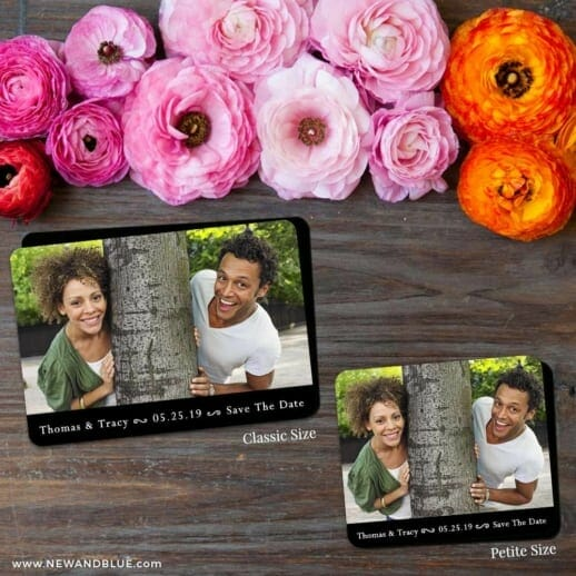 Bar None 2 Save The Date Magnet Classic And Petite Size