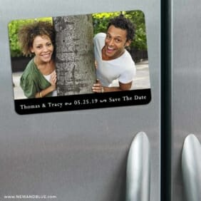 Bar None 3 Refrigerator Save The Date Magnets