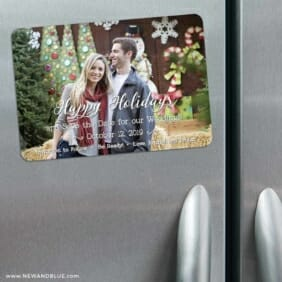 Be Ready 3 Refrigerator Save The Date Magnets