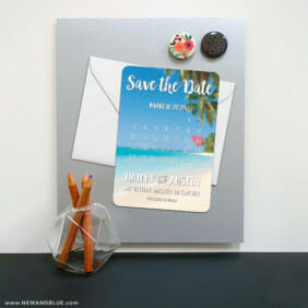 Beach Calendar 8 Magnetic Save The Date