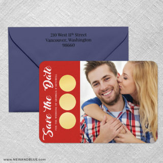 Believe In Love 4 Scratch Off Save The Date With Optional Color Envelope